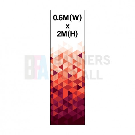 0.6m Roller Banner Graphic 300 Micron Stop Light