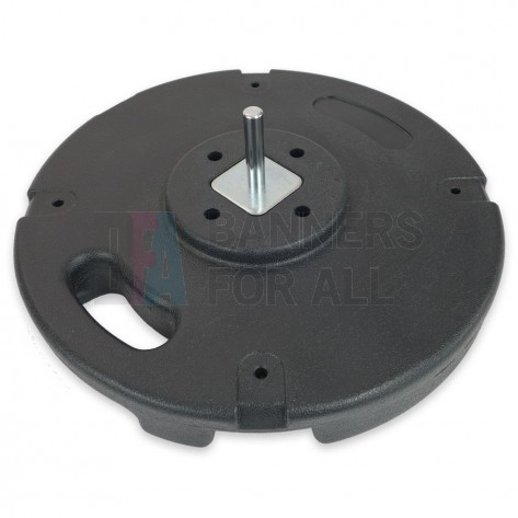 10KG Concrete Base with 14.6mm Economy Spindle