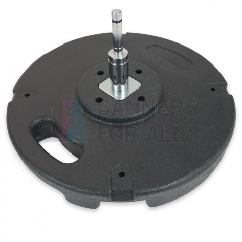 14.6mm rotating spindle for 10KG concrete base