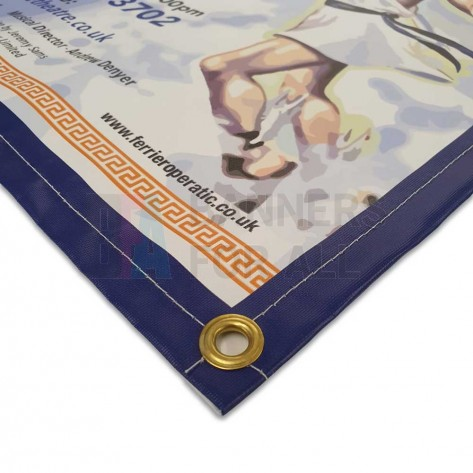 260gsm Recyclable Banner with Hems and Eyelets