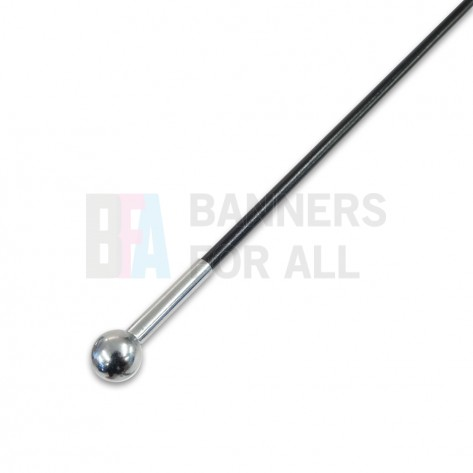 1.3m Flag Pole Top Whip Section (3mm)