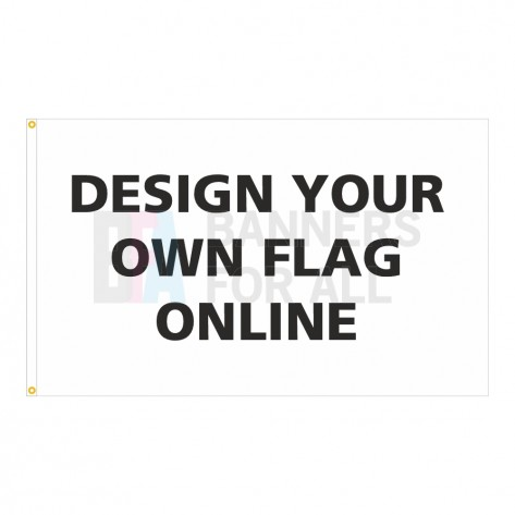 5ft x 3ft Custom Thank You Flag with 20% Donation