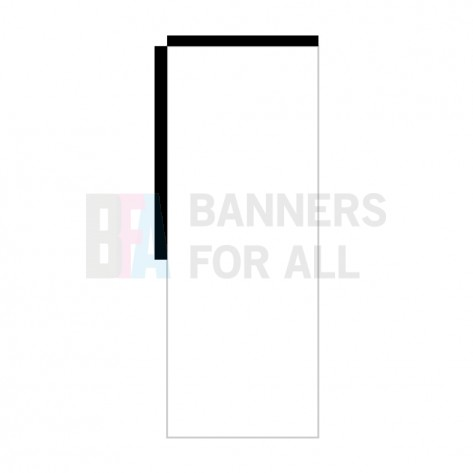 Double Sided Backpack Flag Banner (Left Hand)