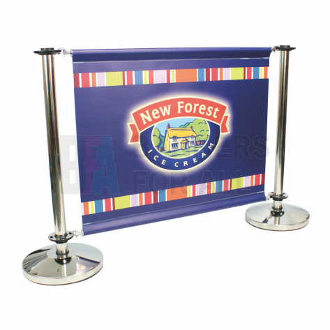 Cafe Barrier Banner - Medium