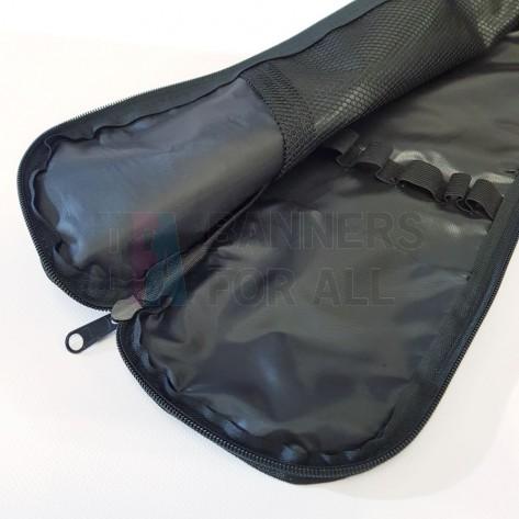 Internal mesh pocket and top dividers