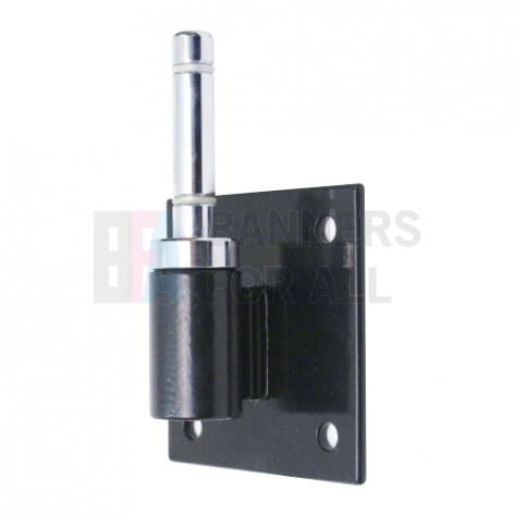 Flag Pole Bracket 0° with rotating spindle