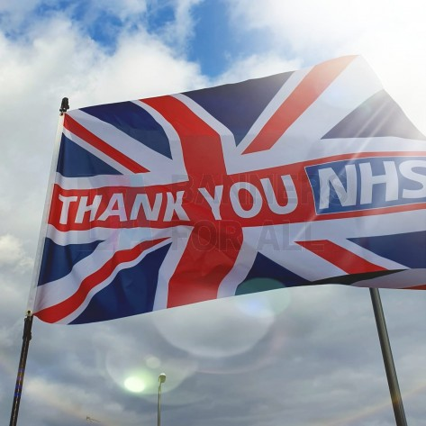 Thank You NHS Union Jack Flag