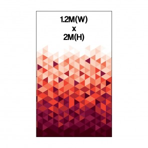 1.2m Roller Banner Graphic 300 Micron Stop Light