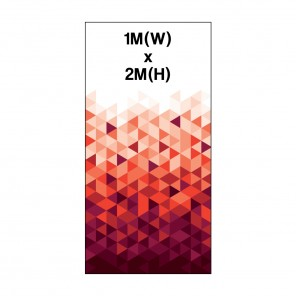 1m Roller Banner Graphic 300 Micron Stop Light