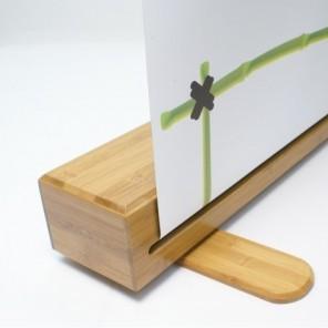Panda bamboo roller banner stand