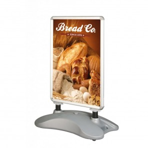 Outdoor Poster Stand with Water Base (A1)