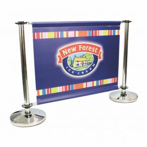 Cafe Barrier Banner - Small