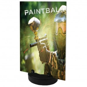 Salute Outdoor Poster Base (Fillable)