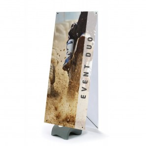 X-Banner (Outdoor) 80cm x 180cm - Double Sided