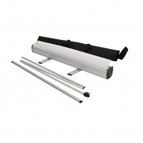 1.2m Primo roller banner stand with pole and bag