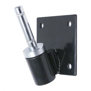Flag Pole Bracket 25° with rotating spindle