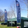 3.5m handed pair on 5.2m feather banner poles