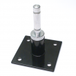Flag Pole Bracket 90° with rotating spindle