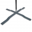 Universal Cross Base with Rotating Spindle with pole
